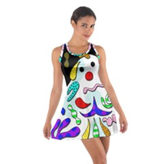 Candy man` Cotton Racerback Dress