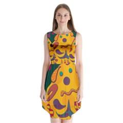 Candy man 2 Sleeveless Chiffon Dress