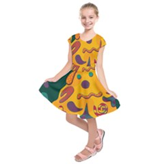 Candy man 2 Kids  Short Sleeve Dress