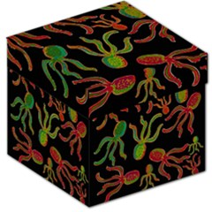 Octopuses pattern 4 Storage Stool 12