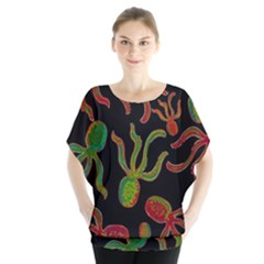 Octopuses pattern 4 Blouse