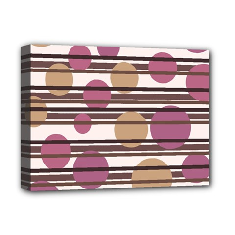 Simple decorative pattern Deluxe Canvas 16  x 12