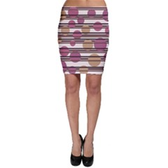 Simple decorative pattern Bodycon Skirt