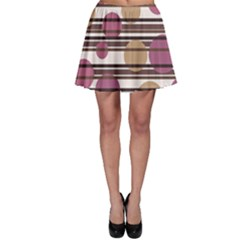 Simple decorative pattern Skater Skirt