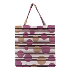 Simple decorative pattern Grocery Tote Bag