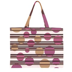 Simple decorative pattern Large Tote Bag