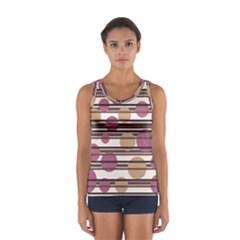 Simple decorative pattern Women s Sport Tank Top