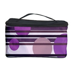Purple simple pattern Cosmetic Storage Case