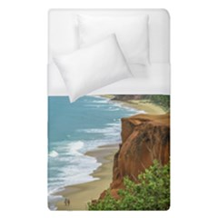 Aerial Seascape Scene Pipa Brazil Duvet Cover (Single Size)