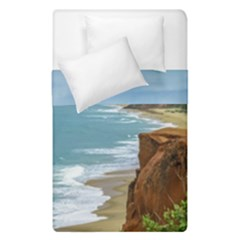 Aerial Seascape Scene Pipa Brazil Duvet Cover Double Side (Single Size)