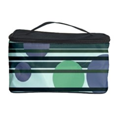 Green simple pattern Cosmetic Storage Case