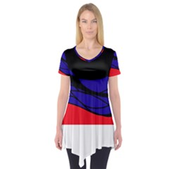 Cool obsession  Short Sleeve Tunic