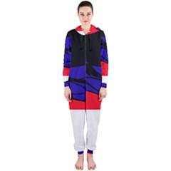 Cool obsession  Hooded Jumpsuit (Ladies)
