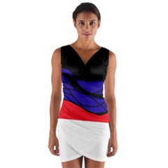 Cool obsession  Wrap Front Bodycon Dress