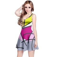 Fair skater  Reversible Sleeveless Dress