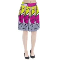 Fair skater  Pleated Skirt