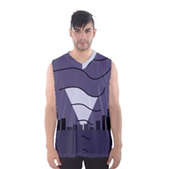 Tesla Men s Basketball Tank Top