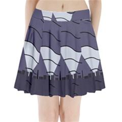 Tesla Pleated Mini Skirt