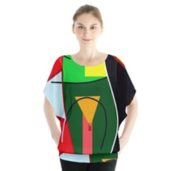Abstract lady Blouse