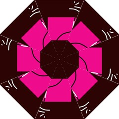 Pink square  Straight Umbrellas