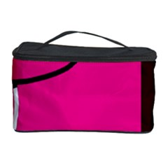 Pink square  Cosmetic Storage Case