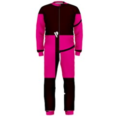 Pink square  OnePiece Jumpsuit (Men)