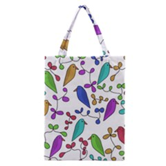 Birds and flowers Classic Tote Bag
