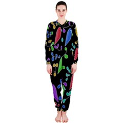 Birds and flowers 2 OnePiece Jumpsuit (Ladies)