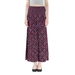 HXG1 BK-PK MARBLE Maxi Skirts