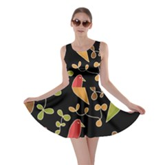 Flowers and birds  Skater Dress
