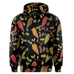 Flowers and birds  Men s Zipper Hoodie