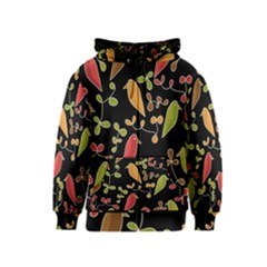 Flowers and birds  Kids  Zipper Hoodie