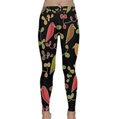 Flowers and birds  Classic Yoga Leggings