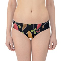 Flowers and birds  Hipster Bikini Bottoms