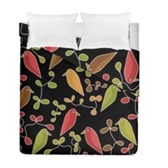 Flowers and birds  Duvet Cover Double Side (Full/ Double Size)