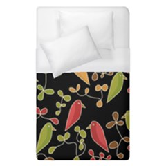 Flowers and birds  Duvet Cover (Single Size)