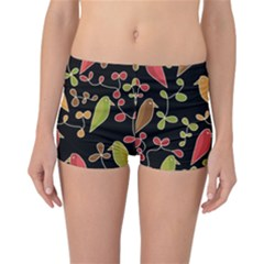 Flowers and birds  Reversible Bikini Bottoms