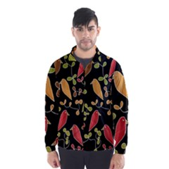 Flowers and birds  Wind Breaker (Men)