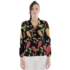 Flowers and birds  Wind Breaker (Women)