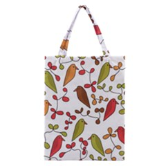 Birds and flowers 3 Classic Tote Bag