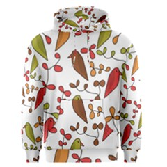 Birds and flowers 3 Men s Pullover Hoodie