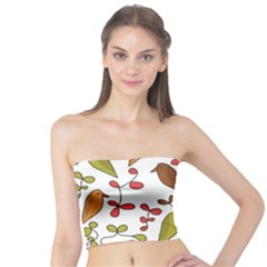Birds and flowers 3 Tube Top