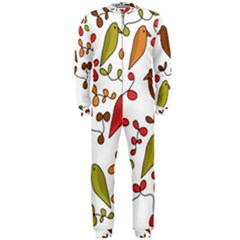 Birds and flowers 3 OnePiece Jumpsuit (Men)