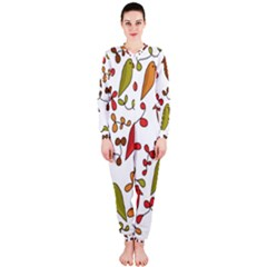 Birds and flowers 3 OnePiece Jumpsuit (Ladies)