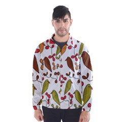 Birds and flowers 3 Wind Breaker (Men)