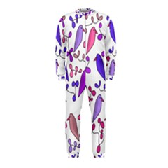 Flowers and birds pink OnePiece Jumpsuit (Kids)