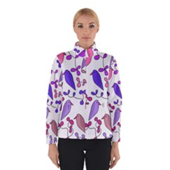 Flowers and birds pink Winterwear