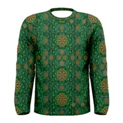 Magic Peacock Night Men s Long Sleeve Tee