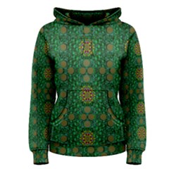 Magic Peacock Night Women s Pullover Hoodie