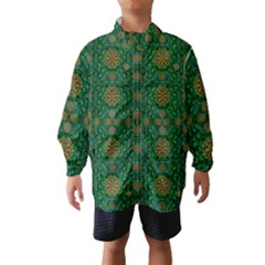Magic Peacock Night Wind Breaker (kids)